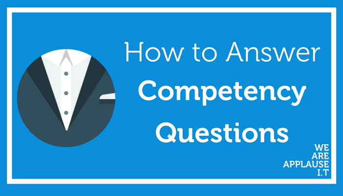 how to answer interview questions: Competency interview answers