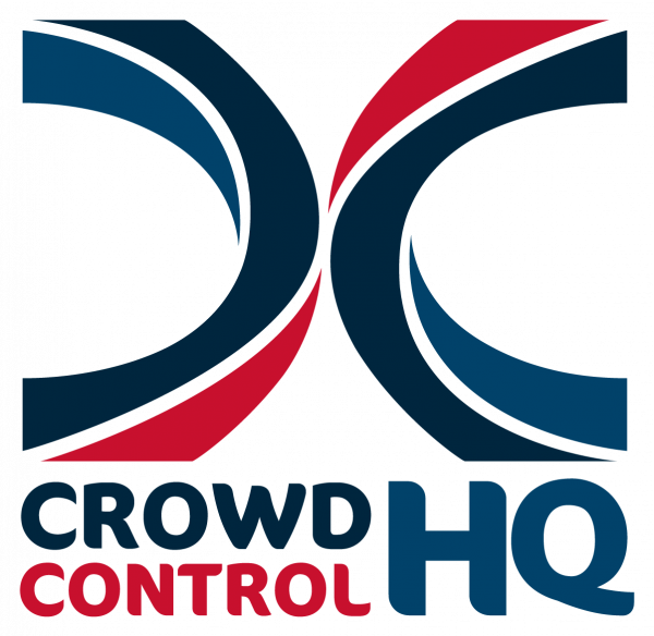 Crowd Control close up logo
