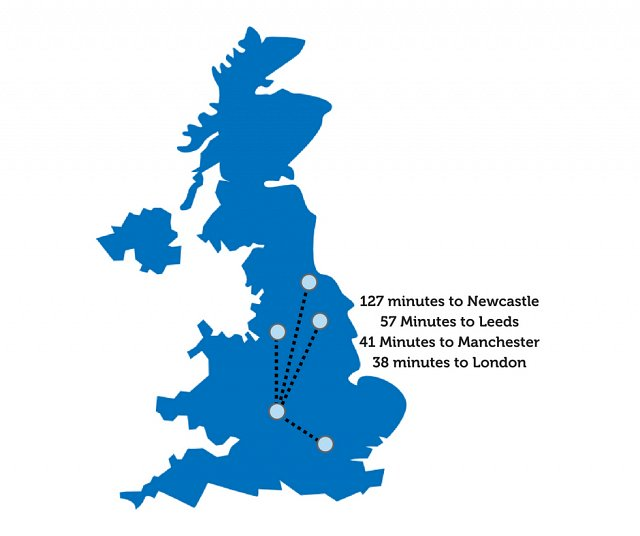 HS2 Travel Times from Birmingham