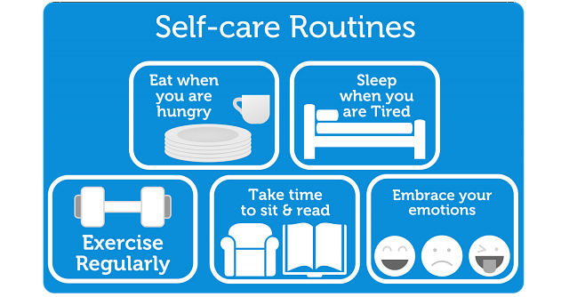 Self-care routines