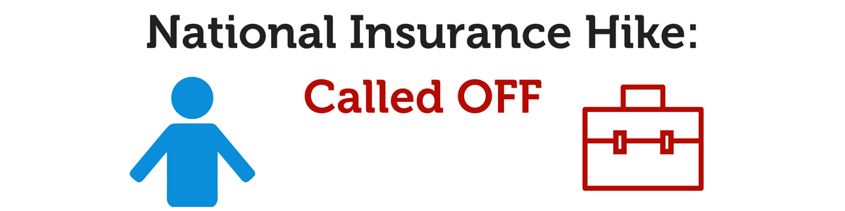 National Insurance increase called-off