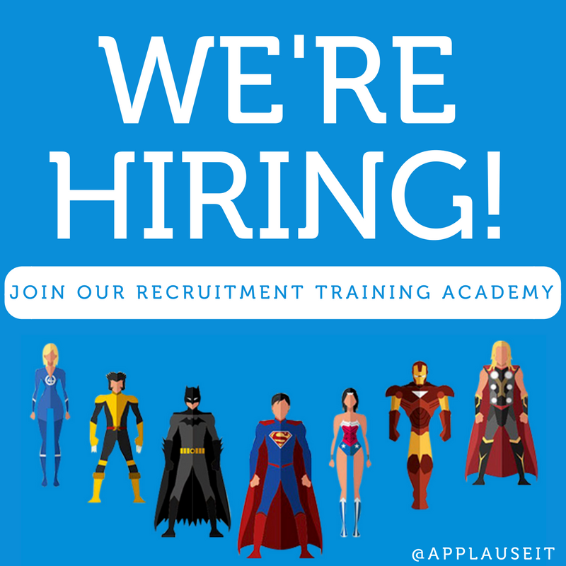 Are you our next recruitment superhero?
